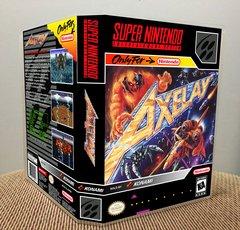 Axelay SNES Game Case with Internal Artwork