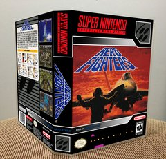 Aero Fighters SNES Game Case with Internal Artwork