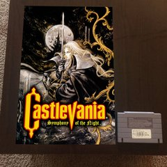 Castlevania Symphony of the Night Poster (18x12 in)