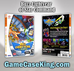 Buzz Lightyear of Star Command Sega Dreamcast Game Case
