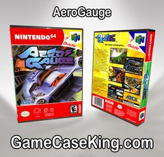 AeroGauge Assault N64 Game Case