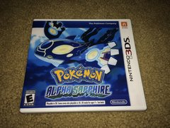 Pokemon Alpha Sapphire 3DS Custom Game Case