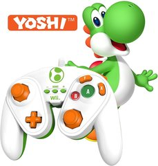 YOSHI - Nintendo Wii / Wii U Official Wired Fight Pad Classic Controller BRAND NEW IN BOX