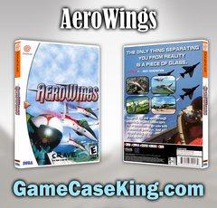 AeroWings Sega Dreamcast Game Case