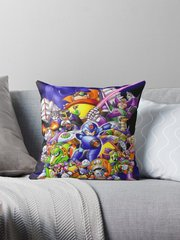 Mega Man X2 Pillow ~FREE SHIPPING~