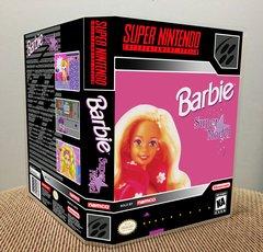 Barbie Super Model SNES Game Case with Internal Artwork
