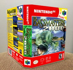 Bass Masters 2000 N64 Game Case with Internal Artwork
