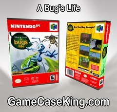 A Bug's Life N64 Game Case