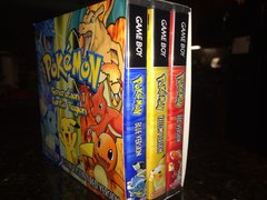 Pokemon Generation 1: Red, Blue, Yellow SLIP COVER ONLY. NO CASES OR GAMES INCLUDED!