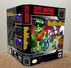 Adventures of Dr. Franken (The) SNES Game Case with Internal Artwork