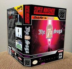 7th Saga (The) SNES Game Case with Internal Artwork
