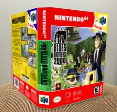 Blues Brothers 2000 N64 Game Case with Internal Artwork