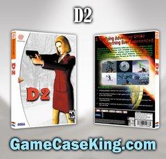 D2 Sega Dreamcast Game Case