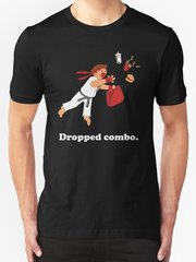 "Street Fighter - Ryu - ""Dropped Combo"" T-Shirt"