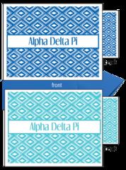 Alpha Delta Pi Sorority Notecards
