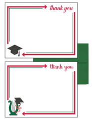 Alpha Chi Omega Graduation Postcards