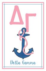 Delta Gamma Logo Poster