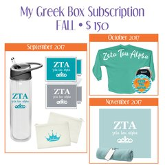 My Greek Box Subscription • Fall • Zeta Tau Alpha