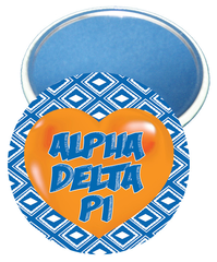 Alpha Delta Pi Heart Mirror