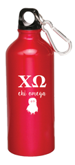 Chi Omega Aluminum Water Bottle