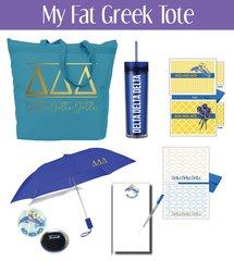 My Fat Greek Tote • Delta Delta Delta