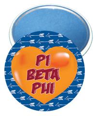 Pi Beta Phi Heart Mirror