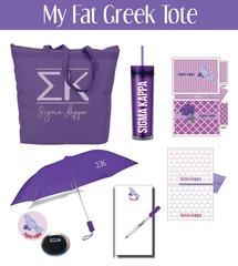 My Fat Greek Tote • Sigma Kappa