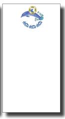 Delta Delta Delta Notepad - Skinny