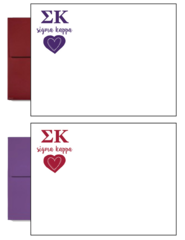 Sigma Kappa Letter Postcards
