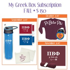 My Greek Box Subscription • Fall • Pi Beta Phi