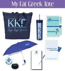 My Fat Greek Tote • Kappa Kappa Gamma