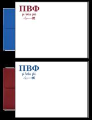 Pi Beta Phi Letter Postcards