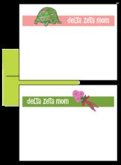 Delta Zeta Mom Logo Postcards