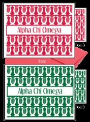 Alpha Chi Omega Sorority Notecards