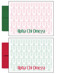 Alpha Chi Omega Sorority Postcards