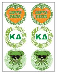 Kappa Delta Sticker Sheet