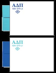 Alpha Delta Pi Letter Postcards