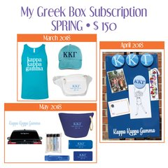 My Greek Box Subscription • Spring • Kappa Kappa Gamma