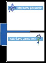 Kappa Kappa Gamma Mom Logo Postcards