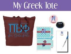 My Greek Tote • Pi Beta Phi