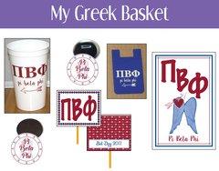 My Greek Basket • Pi Beta Phi