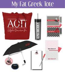 My Fat Greek Tote • Alpha Omicron Pi