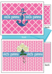 Delta Gamma Logo Notecards