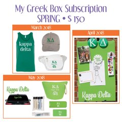 My Greek Box Subscription • Spring • Kappa Delta