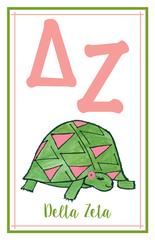 Delta Zeta Logo Poster