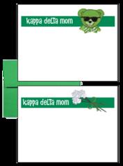 Kappa Delta Mom Logo Postcards