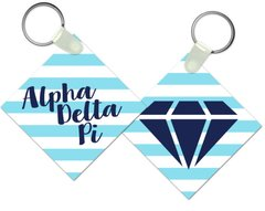 Alpha Delta Pi Key Chain