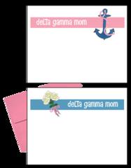 Delta Gamma Mom Logo Postcards