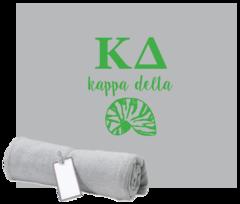 Kappa Delta Sweatshirt Blanket