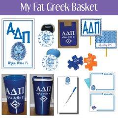 My Fat Greek Basket • Alpha Delta Pi